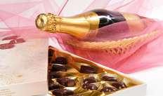 1 Klein flesje champagne