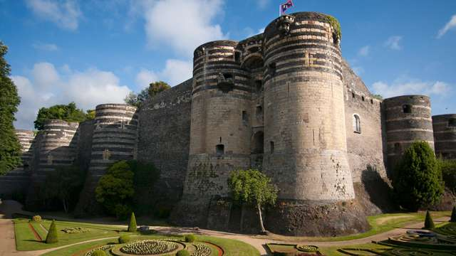 Découverte à Angers avec visite du Château