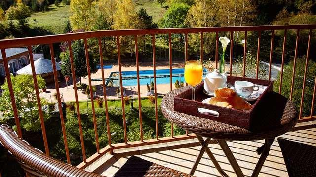 Tomber sous le charme d'Andorre : Escapade avec accès au spa et demi-pension