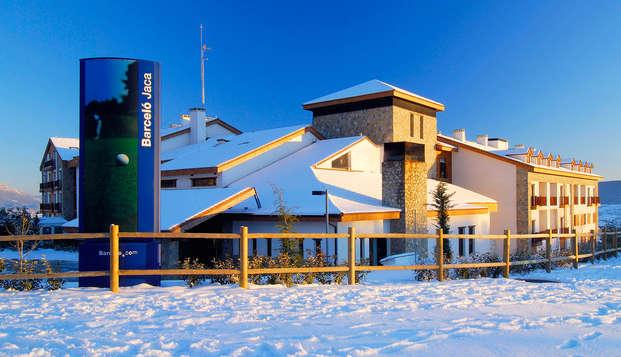 Escapada con spa con vistas a la montaña en hotel 4* en habitación standard