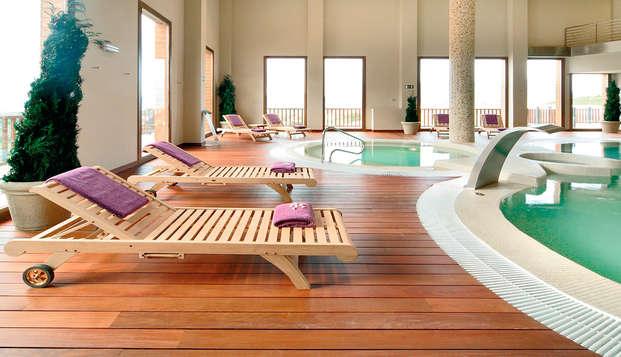 Relax y gastronomía con cena y acceso al spa en un 4* cerca de Jaca