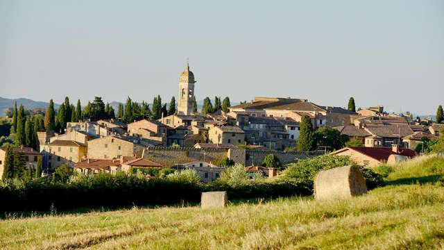 Rust en ontspanning in het hart van Toscane in een middeleeuws dorpje