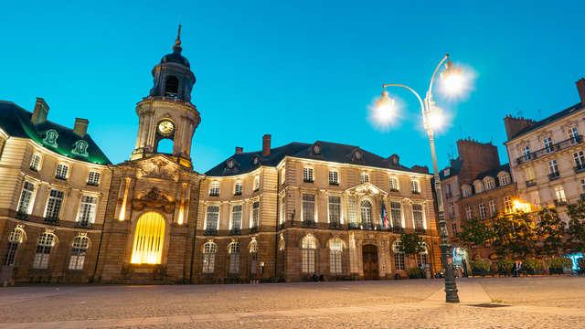 Partez à la découverte de Rennes (2 nuits minimum)