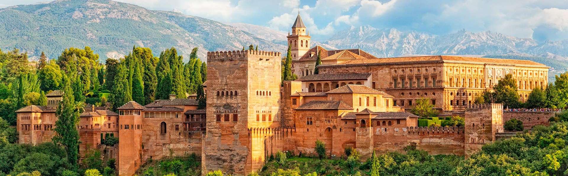 Geniet in een modern 4-sterren hotel in Granada