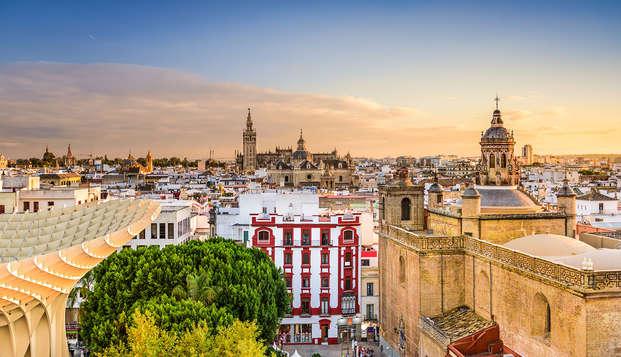 Séjour au cœur du centre-ville de Séville, petit-déjeuner inclus