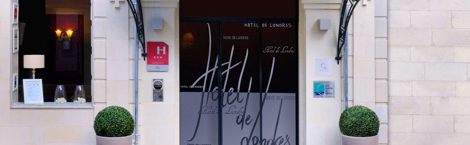 The Originals Boutique, Hôtel Le Londres, Saumur (Qualys-Hotel) - EDIT_front.jpg
