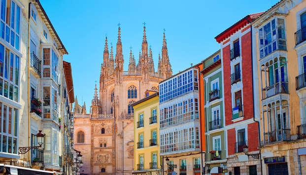 Escapada a un paso de Burgos con desayuno, botella de vino y parking incluido