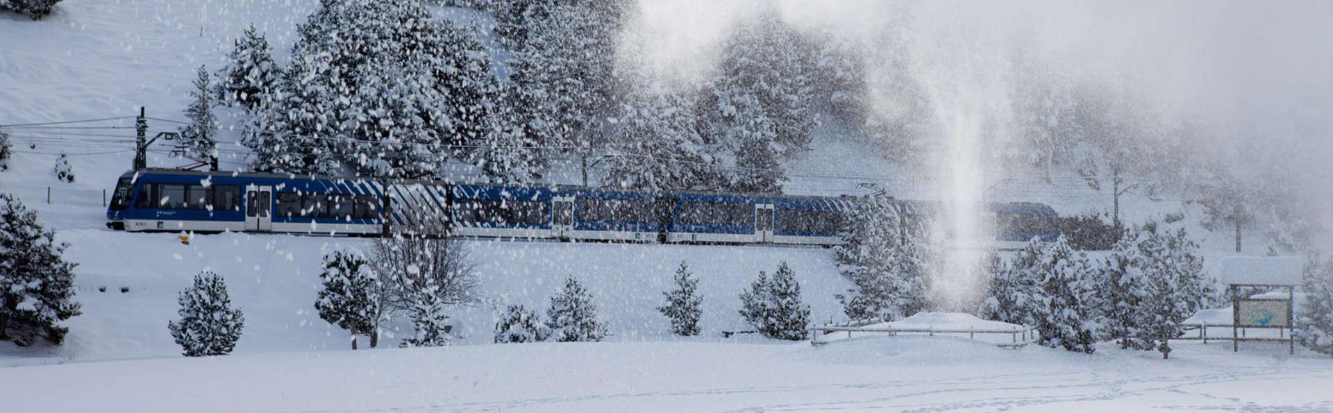 Escapade avec train crémaillère à la vallée de Núria
