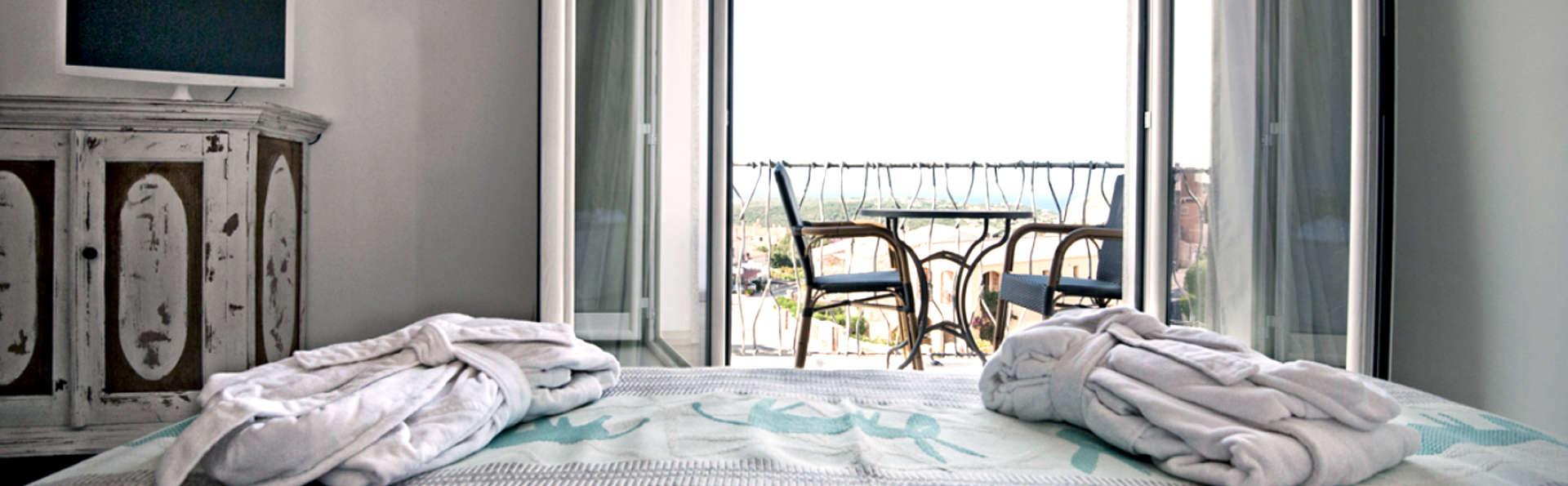 Séjour à Porto Cervo avec surclassement de la chambre avec vue mer
