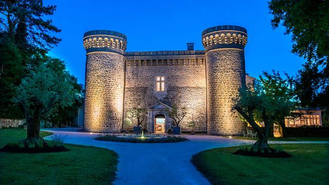 Week-end de luxe dans un château à côté d'Orange