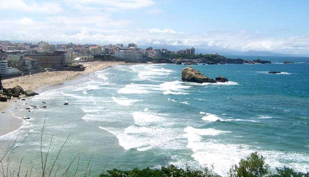 Sol y descanso en Biarritz