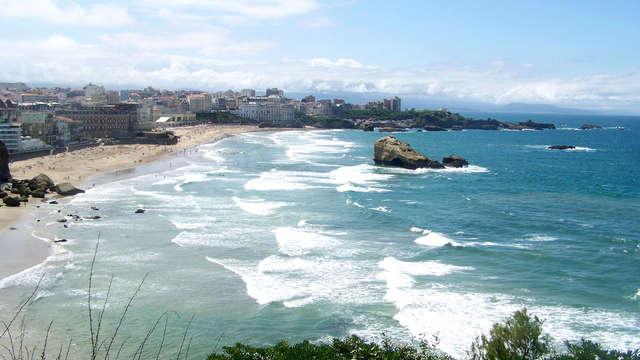 Séjour en amoureux à Biarritz