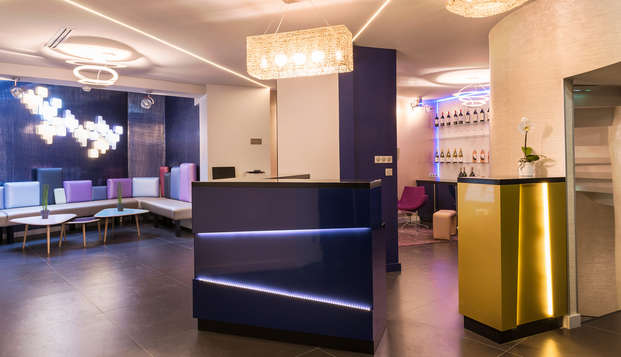 Le Bon Hotel - reception