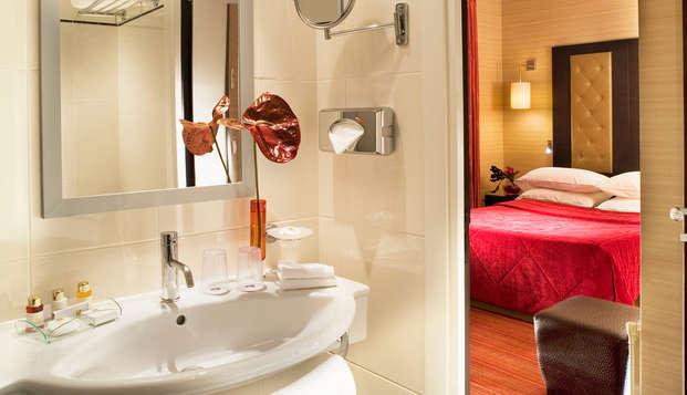 Hotel Elysees Bassano - bathroom