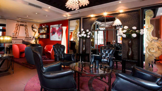 Hotel Elysees Bassano - lobby