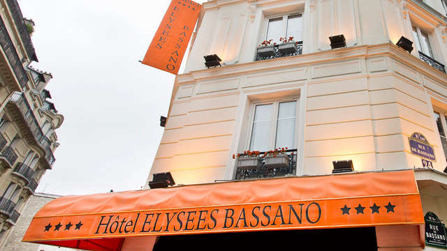 Hotel Elysees Bassano - front
