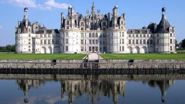 Visite du Château de Chambord pour 2 adultes