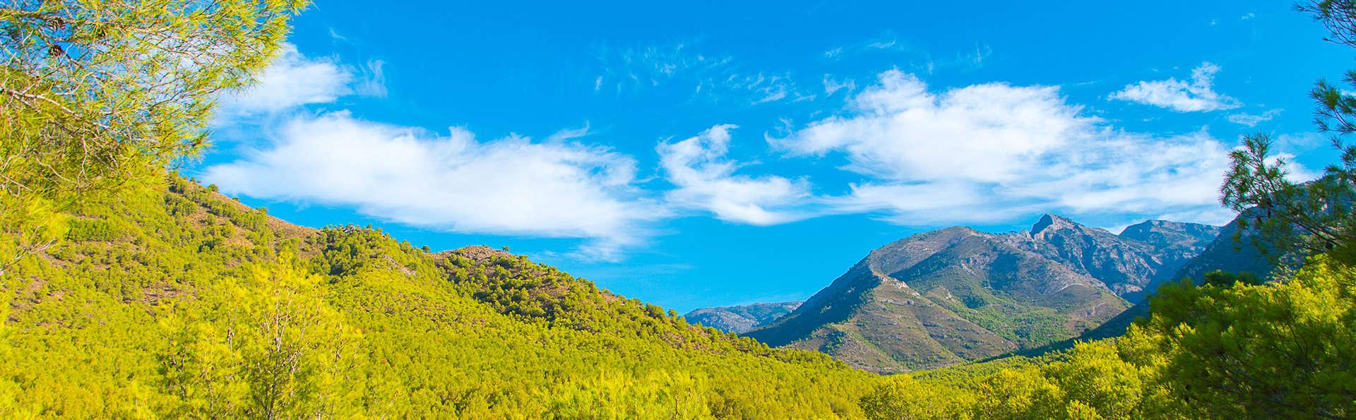 Escapada 3x2 entre las Sierras de Almijara y Alhama de Málaga (Desde 3 noches)