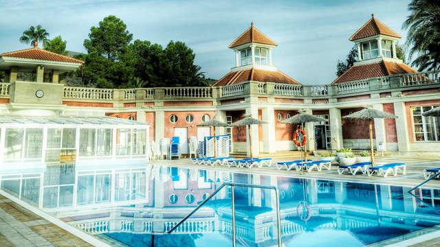 Escapada con acceso a piscinas termales en Fortuna, Murcia