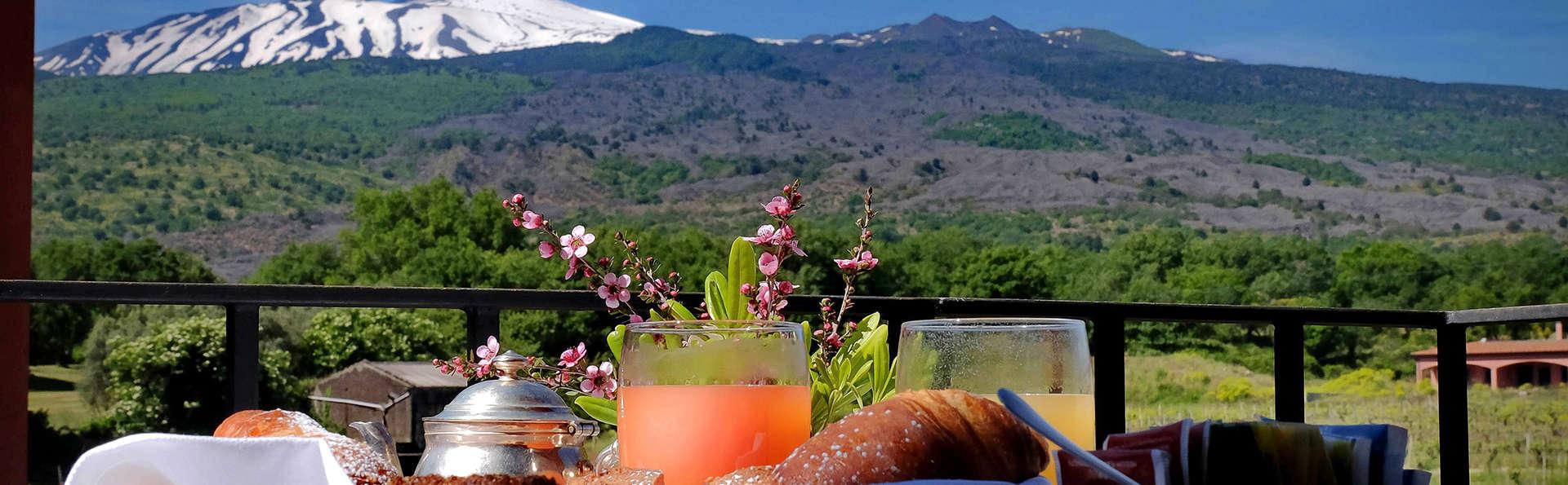 Douce idylle au pied du Parc de l'Etna