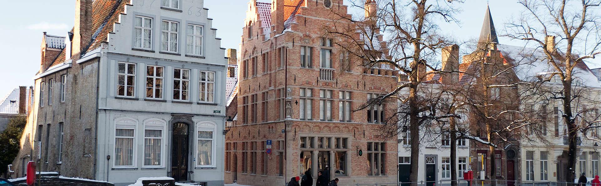 Découvrez tout sur le chocolat au musée Choco Story à Bruges (à partir de 2 nuits)