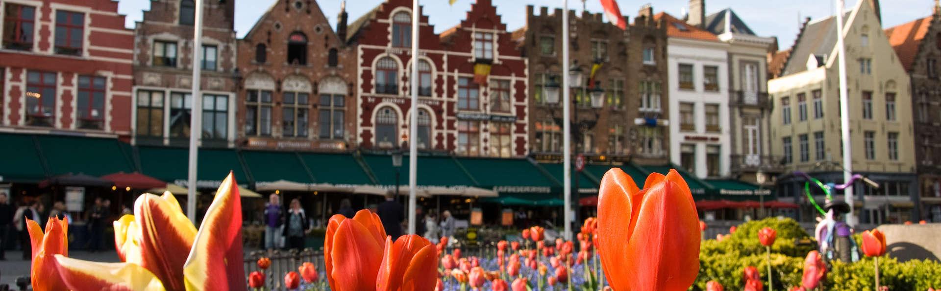 Découvrez Bruges et visitez le musée de la bière (à partir de 2 nuits)