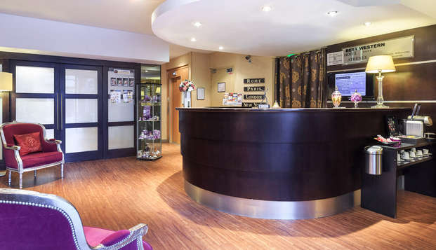 Best Western Hotel Innes - reception