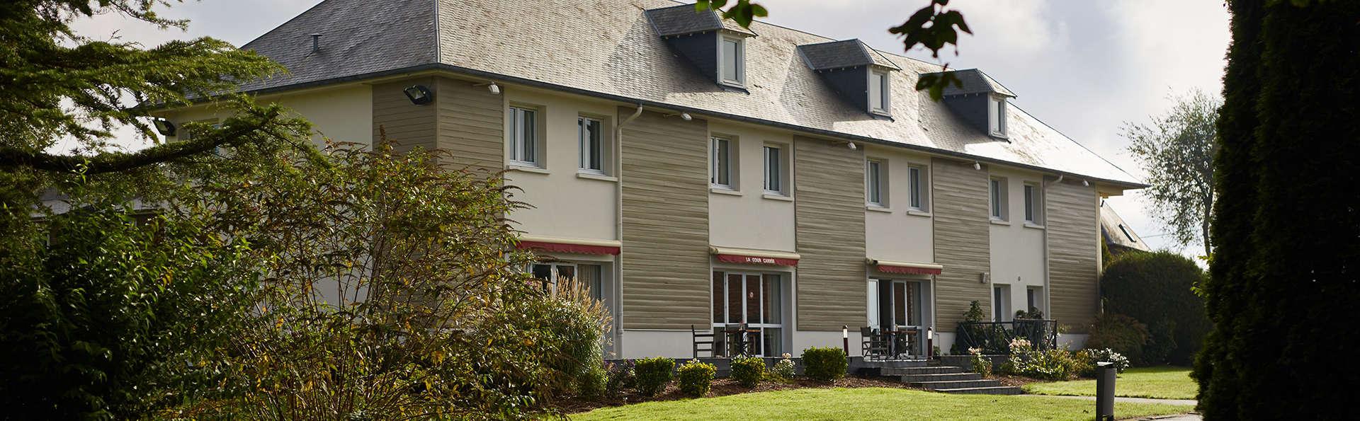 Hotel The Originals Le Tréport Sud La Cour Carrée (ex Inter-Hotel) - EDIT_front2.jpg