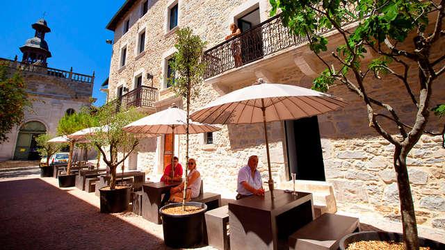 Escapada romántica en un hotel de diseño en Aveyron