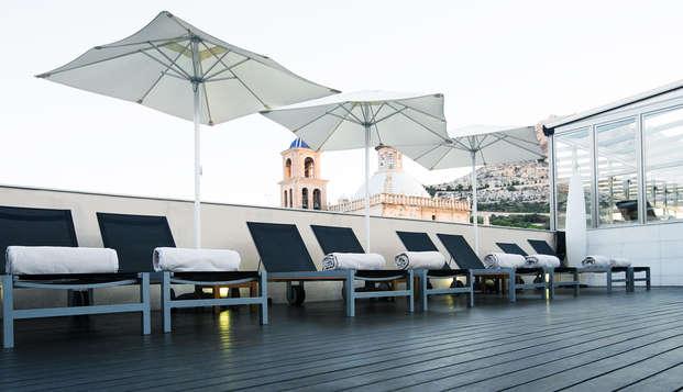 Gastronomie et luxe à Alicante, avec spa, massage relaxant et dîner gastronomique