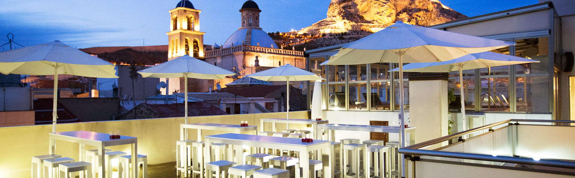 Romanticismo VIP con cena gastronómica, spa y masaje en Alicante