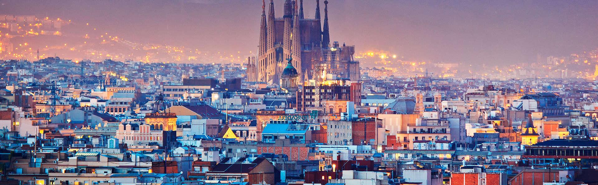 Pause romantique à Barcelone en hotel 4* au centre ville avec cava et fraises