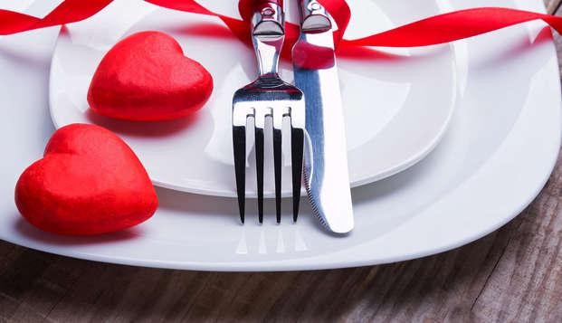 Vivez une saint-valentin gourmande en chambre VIP au Tréport !