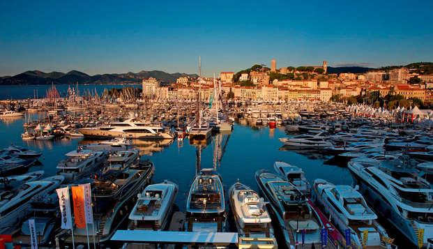 Encanto en una habitación superior en Cannes