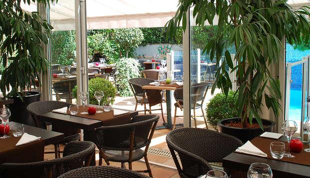 Hotel Amarante Cannes - restauranterrace
