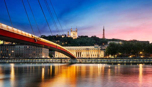 Étape idyllique sous le signe de l'amour à Lyon