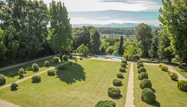 Hotel Villa Navarre - garden