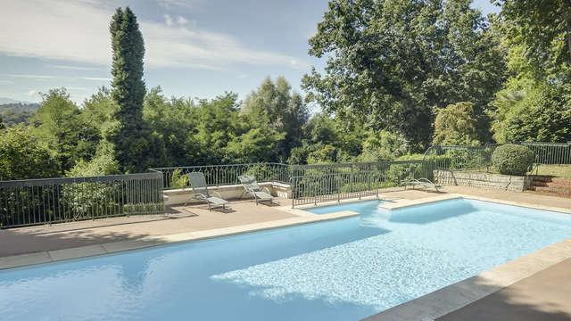 Bienestar y relax en un hotel 5* cerca de los Pirineos en Pau