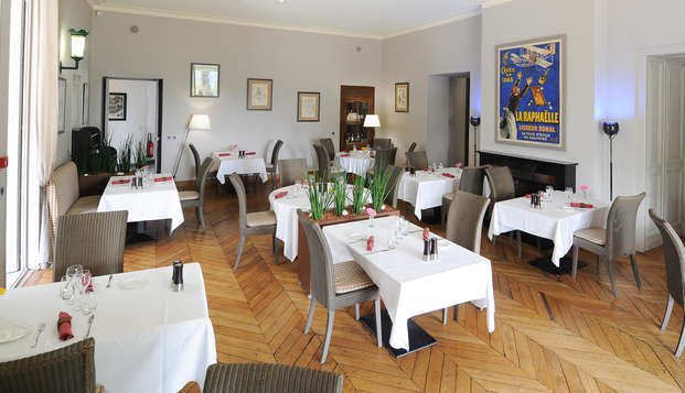 Hotel Villa Navarre - restaurant