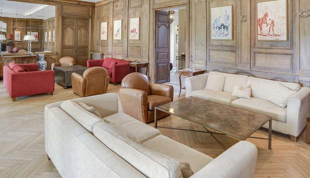 Hotel Villa Navarre - salon