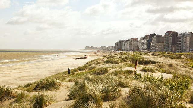 Maak een strandwandeling en geniet van een studio in Zeebrugge (tot 5 personen, vanaf 2 nachten)