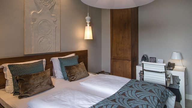 Romantische suite met luxe 4-gangen diner in Grand Hotel Merici Sittard