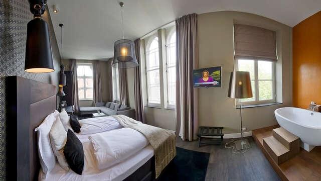1 overnachting in een suite prestige voor 2 volwassenen