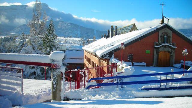 Séjour en chambre quadruple dans les Pyrénées aragonaises à Jaca