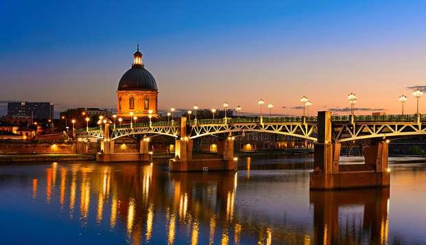Week-end détente avec accès spa sur la place du Capitole à Toulouse
