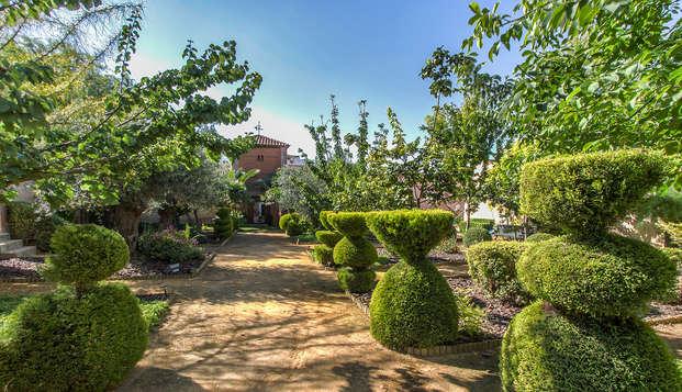 Conoce la comarca de Tierra de Barros con cena en hotel de estilo victoriano