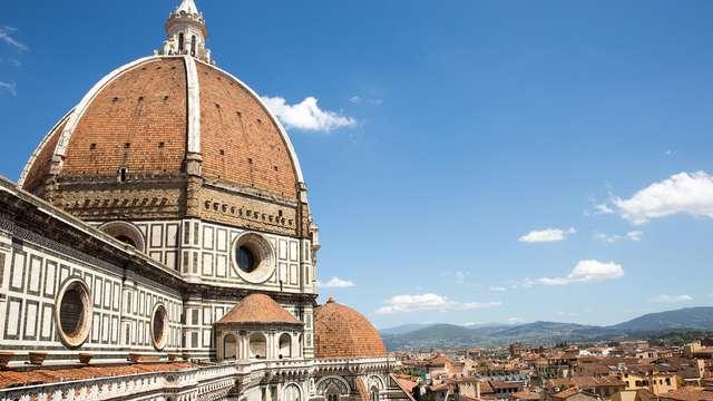 In het hart van Florence, tussen kunst, geschiedenis en cultuur met toegang tot de spa