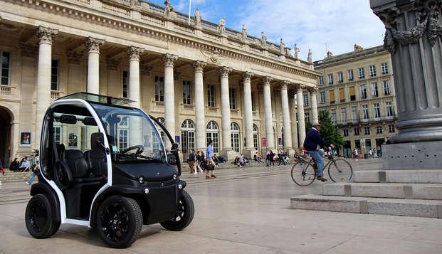 City-trip en voiture électrique au cœur de la capitale mondiale du vin