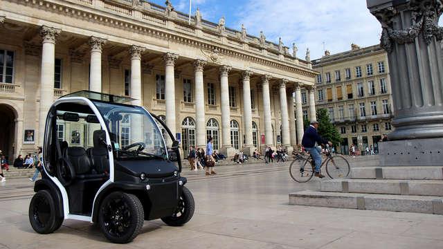 Excursión en coche eléctrico por Burdeos: ¡descubre la capital mundial del vino!