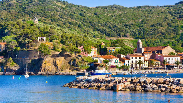 Week-end en chambre supérieure au cœur de Collioure